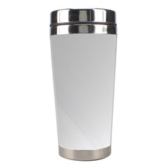 White Background Abstract Light Stainless Steel Travel Tumblers by Nexatart