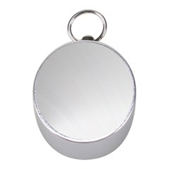 White Background Abstract Light Mini Silver Compasses