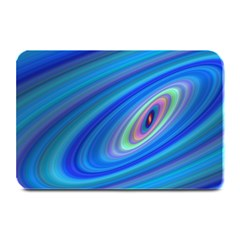 Oval Ellipse Fractal Galaxy Plate Mats
