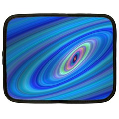 Oval Ellipse Fractal Galaxy Netbook Case (xl)