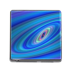 Oval Ellipse Fractal Galaxy Memory Card Reader (square)
