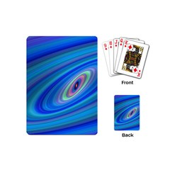 Oval Ellipse Fractal Galaxy Playing Cards (mini)