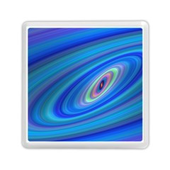 Oval Ellipse Fractal Galaxy Memory Card Reader (square)  by Nexatart