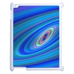 Oval Ellipse Fractal Galaxy Apple Ipad 2 Case (white)