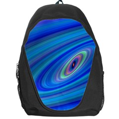 Oval Ellipse Fractal Galaxy Backpack Bag