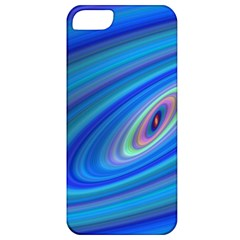 Oval Ellipse Fractal Galaxy Apple Iphone 5 Classic Hardshell Case