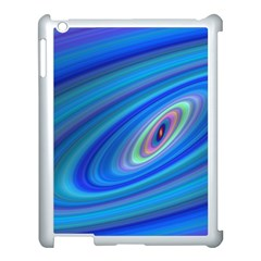 Oval Ellipse Fractal Galaxy Apple Ipad 3/4 Case (white)