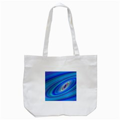Oval Ellipse Fractal Galaxy Tote Bag (white)