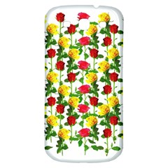 Rose Pattern Roses Background Image Samsung Galaxy S3 S Iii Classic Hardshell Back Case