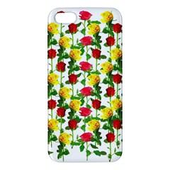 Rose Pattern Roses Background Image Apple Iphone 5 Premium Hardshell Case