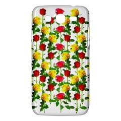 Rose Pattern Roses Background Image Samsung Galaxy Mega 5 8 I9152 Hardshell Case  by Nexatart