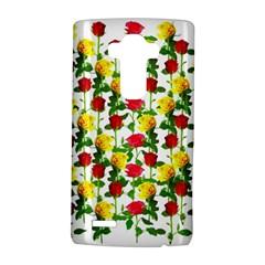 Rose Pattern Roses Background Image Lg G4 Hardshell Case by Nexatart