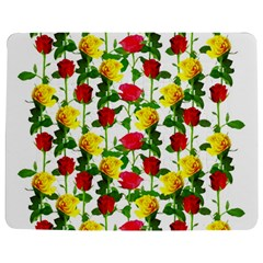 Rose Pattern Roses Background Image Jigsaw Puzzle Photo Stand (rectangular)