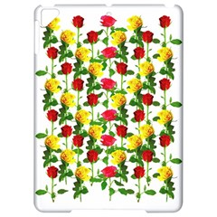 Rose Pattern Roses Background Image Apple Ipad Pro 9 7   Hardshell Case