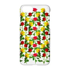 Rose Pattern Roses Background Image Apple Iphone 7 Hardshell Case by Nexatart