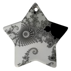 Apple Males Mandelbrot Abstract Ornament (star) by Nexatart