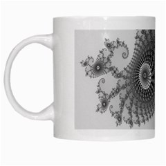 Apple Males Mandelbrot Abstract White Mugs by Nexatart