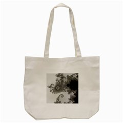 Apple Males Mandelbrot Abstract Tote Bag (cream) by Nexatart