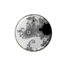Apple Males Mandelbrot Abstract Hat Clip Ball Marker (4 Pack)