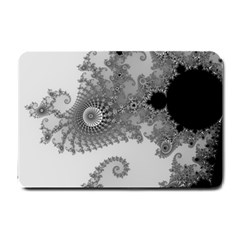 Apple Males Mandelbrot Abstract Small Doormat  by Nexatart