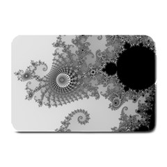 Apple Males Mandelbrot Abstract Plate Mats by Nexatart