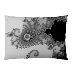Apple Males Mandelbrot Abstract Pillow Case by Nexatart