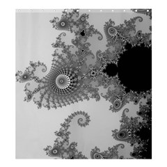 Apple Males Mandelbrot Abstract Shower Curtain 66  X 72  (large)  by Nexatart
