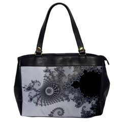 Apple Males Mandelbrot Abstract Office Handbags by Nexatart
