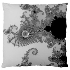 Apple Males Mandelbrot Abstract Large Cushion Case (two Sides)