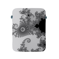 Apple Males Mandelbrot Abstract Apple Ipad 2/3/4 Protective Soft Cases by Nexatart