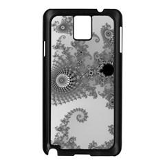 Apple Males Mandelbrot Abstract Samsung Galaxy Note 3 N9005 Case (black) by Nexatart