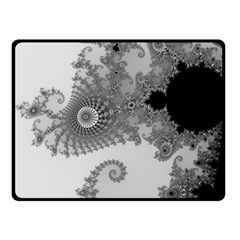 Apple Males Mandelbrot Abstract Double Sided Fleece Blanket (small)  by Nexatart