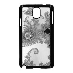 Apple Males Mandelbrot Abstract Samsung Galaxy Note 3 Neo Hardshell Case (black) by Nexatart