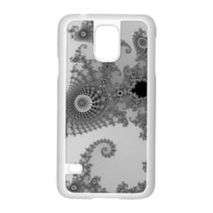 Apple Males Mandelbrot Abstract Samsung Galaxy S5 Case (white) by Nexatart