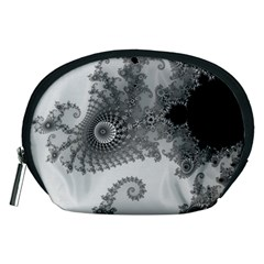 Apple Males Mandelbrot Abstract Accessory Pouches (medium)