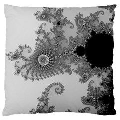Apple Males Mandelbrot Abstract Standard Flano Cushion Case (one Side)