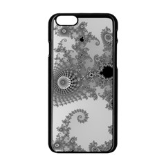 Apple Males Mandelbrot Abstract Apple Iphone 6/6s Black Enamel Case by Nexatart
