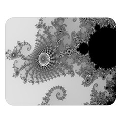 Apple Males Mandelbrot Abstract Double Sided Flano Blanket (large)  by Nexatart