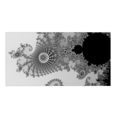 Apple Males Mandelbrot Abstract Satin Shawl by Nexatart