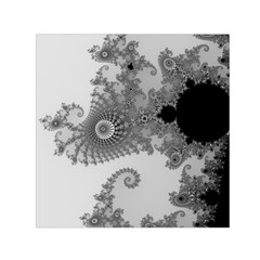 Apple Males Mandelbrot Abstract Small Satin Scarf (square) by Nexatart