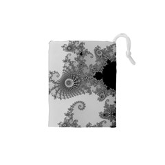 Apple Males Mandelbrot Abstract Drawstring Pouches (xs)
