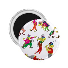 Golfers Athletes 2 25  Magnets by Nexatart