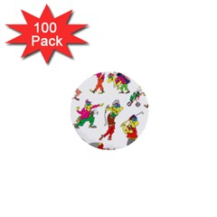 Golfers Athletes 1  Mini Buttons (100 Pack)