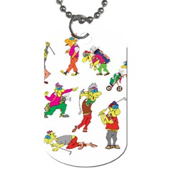 Golfers Athletes Dog Tag (two Sides)