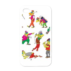 Golfers Athletes Apple Iphone 4 Case (white)