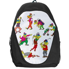 Golfers Athletes Backpack Bag