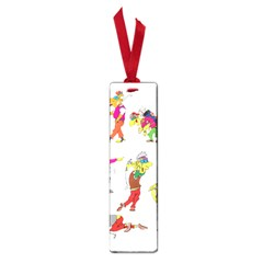 Golfers Athletes Small Book Marks by Nexatart
