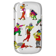 Golfers Athletes Galaxy S3 Mini by Nexatart
