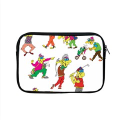 Golfers Athletes Apple Macbook Pro 15  Zipper Case by Nexatart
