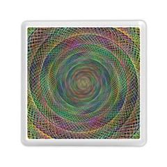 Spiral Spin Background Artwork Memory Card Reader (square)